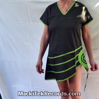 Green V-Neck Tunic
