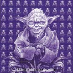 Tarpaulin Yoda Blue