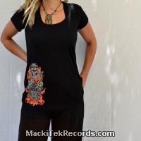 Tunic Black Fire Totem