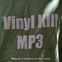 T-Shirt Vert Vinyl Kill Mp3