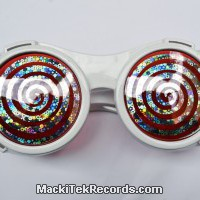 Lunettes cyber-spiral Blanche