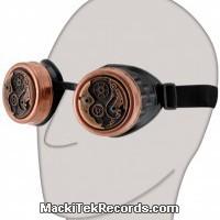 Glasses Steampunk Clockwork