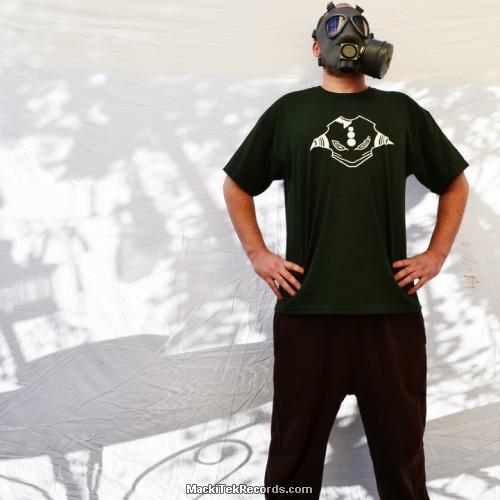 T-Shirt Green MackiTek 3672 Face