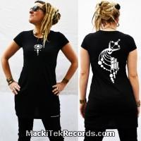 Dress Black MackiTek Crop Circle 03