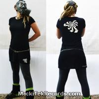 Dress Black Crop Circle 04