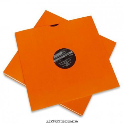 x5 Pochettes Orange 12 Inches