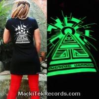 Dress Black MackiTek Solar Pyramid Phospho