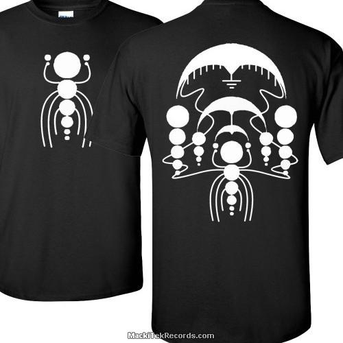 T-Shirt Noir Crop Circle 05