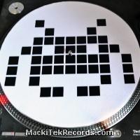 Feutrines MackiTek 27 White Space Invaders