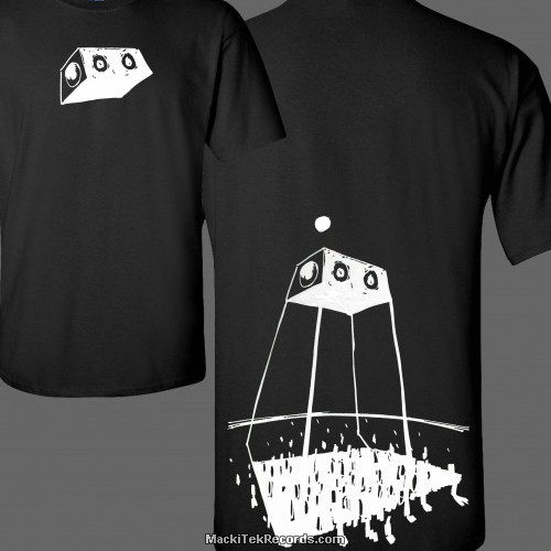 T-Shirt Noir MackiTek Futur Rave