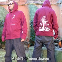 Veste Zip XXL Dark Purple MackiTek Hypno V2