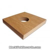 x10 Pochettes carton kraft avec trou 33T