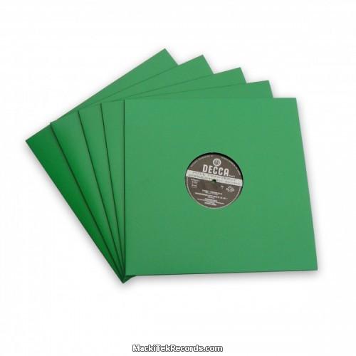 x5 Pochettes Verte 12 Inches