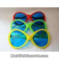 Giant Glasses Yellow