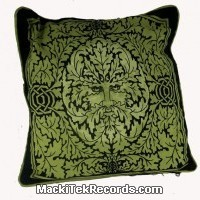 Cushion Covers God Of Nature Green