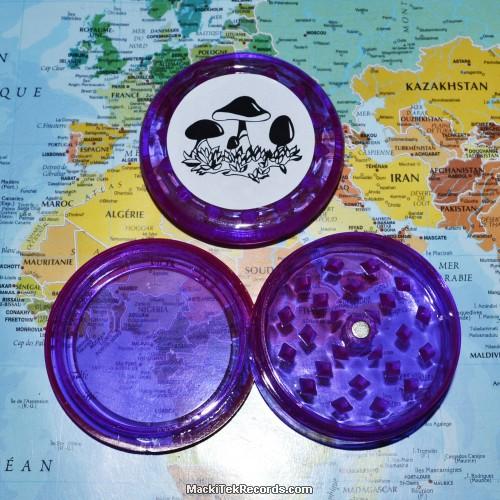 Grinder Champi aimanté 3 Part Violet