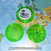 Grinder Jamaica aimanté 3 Part Vert