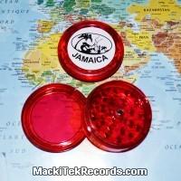 Grinder Jamaica aimanté 3 Part Rouge