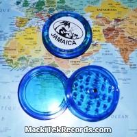 Grinder Jamaica aimanté 3 Part Bleu
