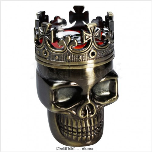 Grinder Skull Metal
