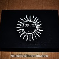 Wooden Box Black Sun
