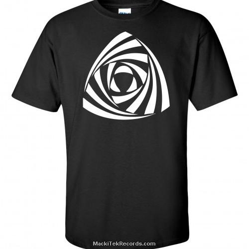 T-Shirt Noir MackiTek Crop Circle 11