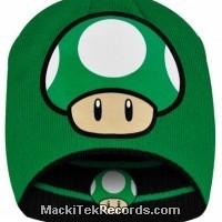 Bonnet Nintendo 1 UP Reversible