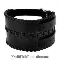 Bracelet de Force Cuir Apache Double