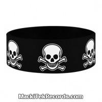Bracelet Caoutchouc Pirate Heads