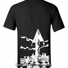 T-Shirt Noir MackiTek Futur Party