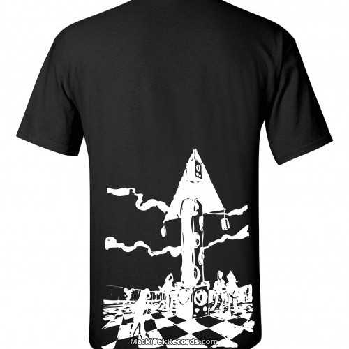 T-Shirt Noir MackiTek Futur Party