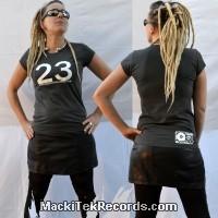T-Shirt Gris Femme MackiTek 23