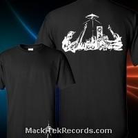 T-Shirt Noir MackiTek Analog Work V2
