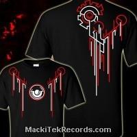 T-Shirt Noir MackiTek Total Mechanical