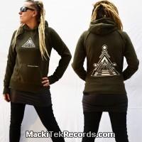 Sweat Kaki S Femme MackiTek Solar Pyramid V2
