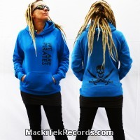 Sweat Femme Electric Blue MackiTek We Are Pirates