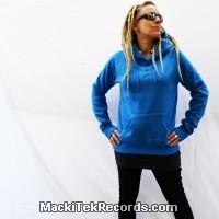 Sweat Femme Electric Blue MackiTek Hypno
