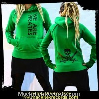 Sweat Vert Femme We Are Pirates