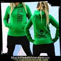Sweat Vert Femme We Are Pirates