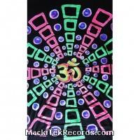 Tenture Batik Fluorescente BT094