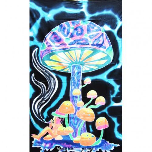 Tenture Batik Fluorescente BT046