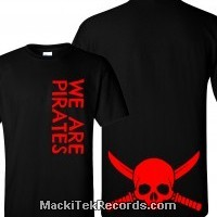 T-Shirt Noir We Are Pirates V2