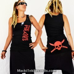 Tunic Black We Are Pirates V2