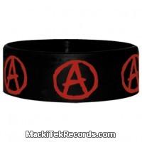 Bracelet Caoutchouc Anarchy