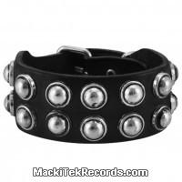 Bracelet Cuir Black Stained