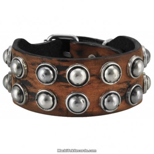 Bracelet Cuir Brown Stained