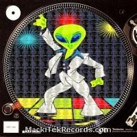 Feutrines Alien Disco