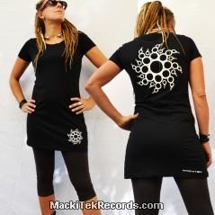 Dress Black Crop Circle 14