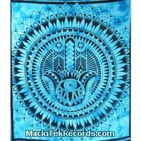 Tenture Magic Hand Big Turquoise