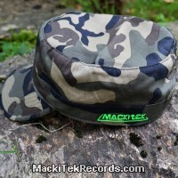 Casquette Reglable Camouflage MackiTek 1 Green